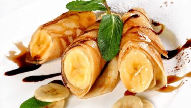 【こどもが喜ぶ❣ 簡単!手作りおやつ】チョコバナナクレープ